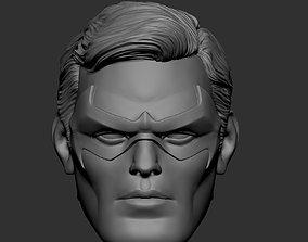 3D printable model Nightwing - Robin - head
