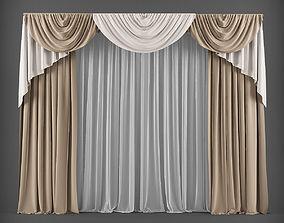 Curtain 3D model 23