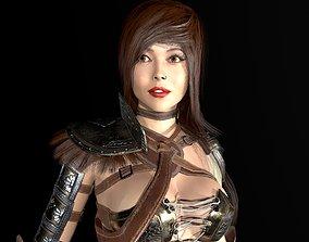Gladiator Female 3D asset