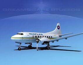 Martin 202 Naples Airlines 3D