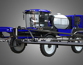 Self-propelled Front Boom Sprayer 3D