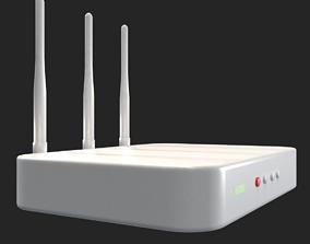 3D model WiFi Router