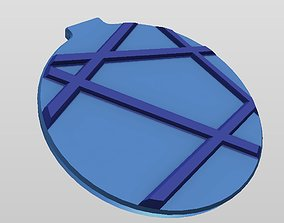 3D print model QI WIRELESS CHARGER STYLE 7