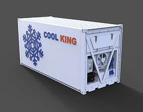 Reefer container 3D print model