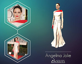 jolie Angelina Jolie 3D Model ready for 3d print