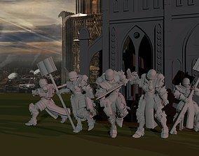 Sisters of War - Command Retinue 3D print model sword