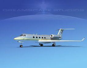 3D Grumman Gulfstream G-V V12
