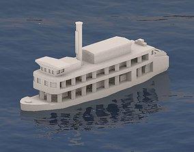 3D printable model Sternwheeler Benjamim Guimaraes
