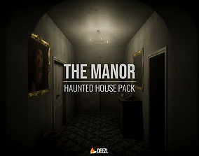 3D model The Manor - Haunted House Pack - All Formats