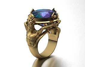 3D print model women ring 03 No fashion-and-beauty