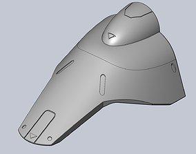 3D printable model Overwatch Brigitte Left Leg Armor