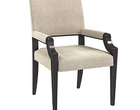 Jessica Charles Viola Arm Dining Chair 3D