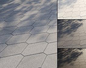 3D Granite paving slabs Type 5