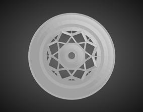 Rotiform DSC rims for Hot Wheels 3D print model