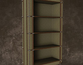 Richard s Canvas Bookcase 3D model