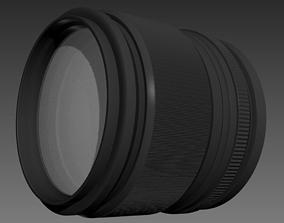 Camera Lens optical 3D model