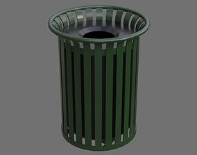 Dustbin 4A 3D asset