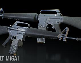 3D model Realistic M16A1