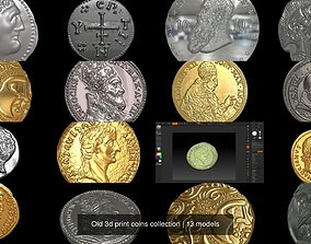 Old 3d print coins collection