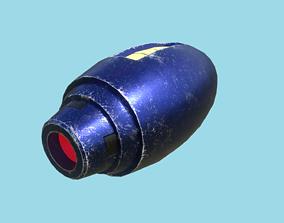 Mega Buster Megaman - Hand Cannon - SciFi Blast 3D model