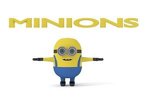 Minion 3D model despicable-me