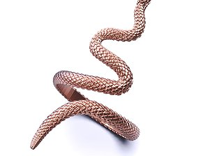 Snake Ring Texture All Size 3D printable model