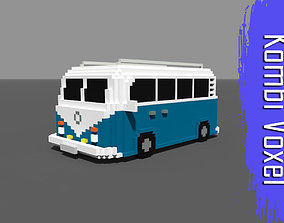 3D model Voxel Kombi