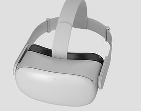 3D model Oculus quest 2 headset