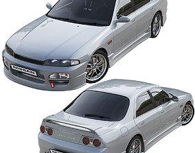 3D Nissan Skyline Hr 33 4door nissan