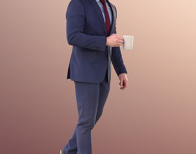 3D model Robb 10948 - Business Man Walking With