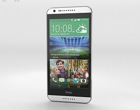 HTC Desire 620G Marble White 3D