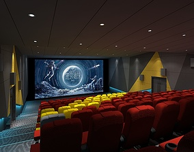 3D Cinema house