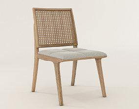 3D model C120 Wood Chair