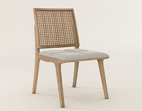 3D model C120 Wood Chair