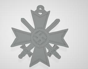 WW2 German Nazi Knights Cross of the War 3D print model 3