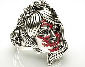 Halloween ring 3D print model death