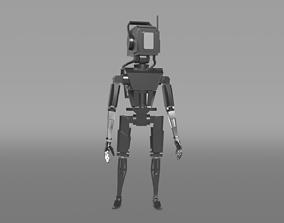 Robot Chester 3D model