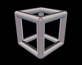 3D printable model 001 Mathart - Platonic Solids - Cube 3
