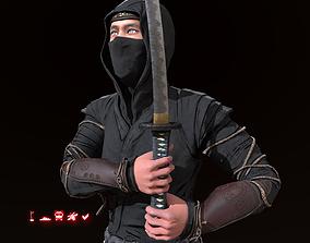 3D model Ninja Hermit