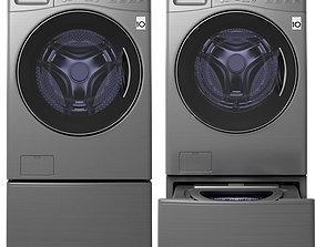 3D model electronics LG TWIN 171215S washing machine