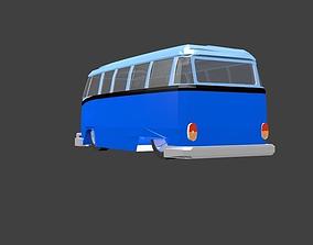 3D asset Volkswagen Kombi