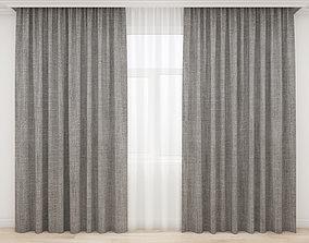 Curtain 3D model interior