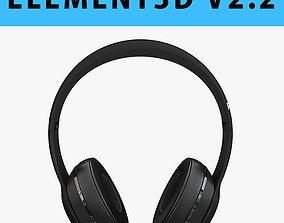 E3D - Apple Beats Solo3 Wireless Headphones 3D model
