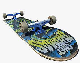 3D model Pro Skateboard