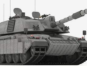 Challenger II British Main Battle Tank 3D model