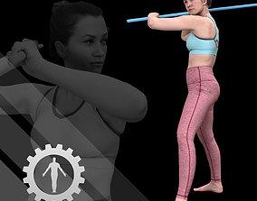 Female Scan - Katia 44 3D model