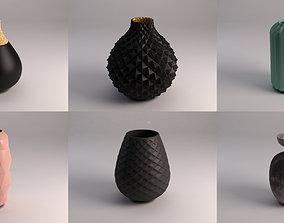 CERAMIC VASE---Collection x10 3D