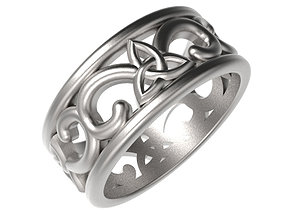 Trinity Design Ring 3D print model