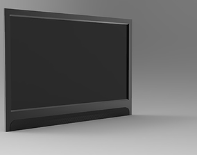 design 3D printable model Television