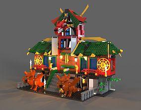 Lego ninja refuge 3D